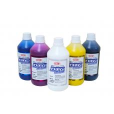 Набор текстильных чернил DuPont™ Artistri® CMYK+W по 500 мл