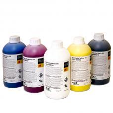 Комплект текстильных чернил Kodak™  CMYK+W по 1 л