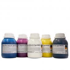 Текстильные чернила Kodak™ ECMYK+W DTG 500 мл